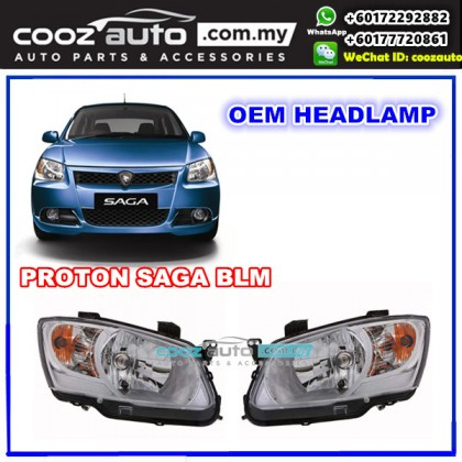Proton Saga BLM Front Left Passenger Side HeadLight HeadLamp Head Lamp