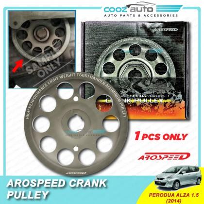 Perodua Alza 1.5 Arospeed Harden Lighten Light Weight Crank Pulley (T6061 Aluminium)