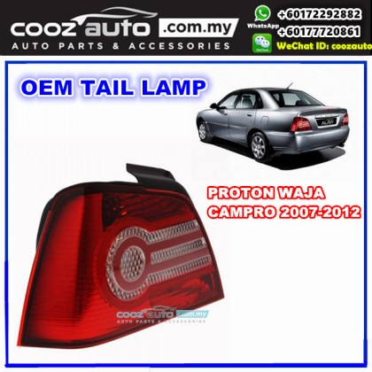 Proton Waja Campro 2007-2012 Rear Right Driver Side TailLight TailLamp Tail Lamp