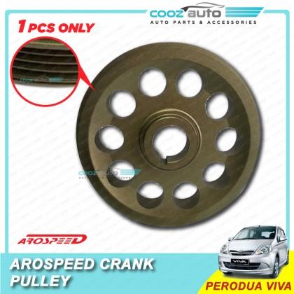 Perodua Viva Arospeed Harden Lighten Light Weight Crank Pulley (T6061 Aluminium)