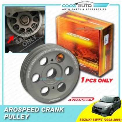 Suzuki Swift 2003-2008 (4Pk5Pk) Arospeed Harden Lighten Light Weight Crank Pulley (T6061 Aluminium)