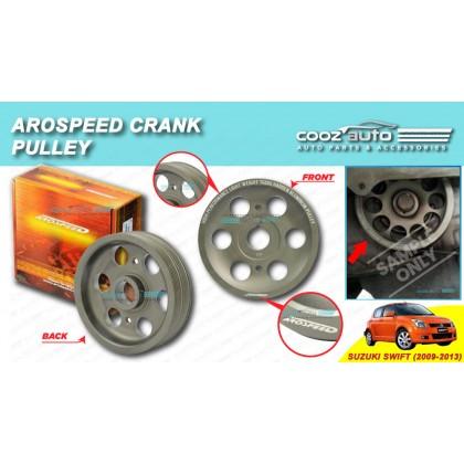 Suzuki Swift 2009-2013 (4Pk5Pk) Arospeed Harden Lighten Light Weight Crank Pulley (T6061 Aluminium)