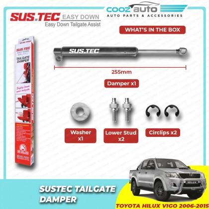 Toyota Hilux Vigo 2006 - 2015 SUSTEC Easy Down Rear Trunk Tailgate Gas Strut Damper