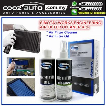 Simota Works Engineering  Air Filter Clean Cleaner Service Kit