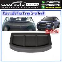 Honda HRV Black Rear Cargo Cover Trunk Shade Boot Security Shield Blind