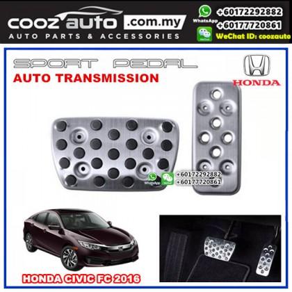 Honda Civic FC 2016-2018 Automatic Transmission Aluminium Sports Foot Pedals