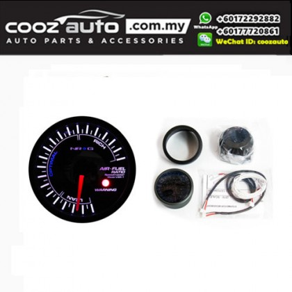 NRG Meter Gauges (60MM) - Air Fuel Ratio Meter