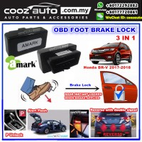 Honda BR-V BRV BR V 2016-2018 3 IN 1 A-MARK OBD FOOT BRAKE AUTO DOOR LOCK