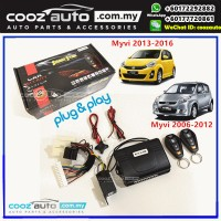 Smart Start Perodua Myvi 2006 - 2015 Replacement Alarm System Plug and Play