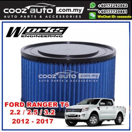 Ford Ranger 2.2 2.5 3.2 2012-2017 Works Engineering Simota Drop In Air Filter