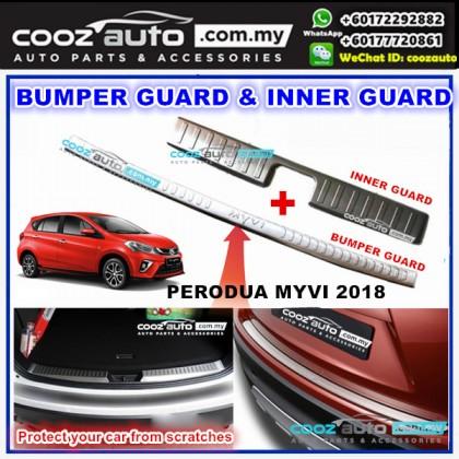 Perodua Myvi 2018 12pcs Window Trim Chrome Lining Door Belt Moulding Bumper Guard