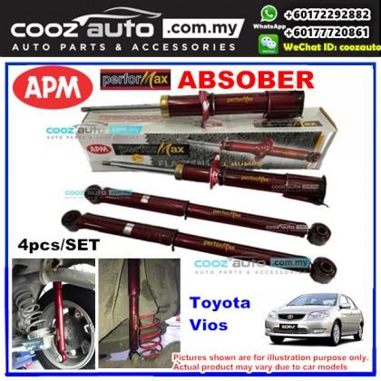 Toyota Vios NCP42 2002 - 2007 APM Performax Sport Absorber Suspension