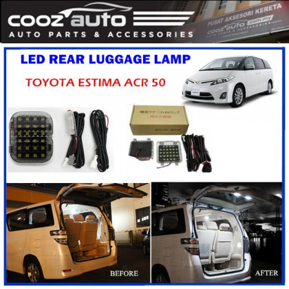 Toyota Estima ACR50 Rear Luggage Boot Trunk LED Light Lamp