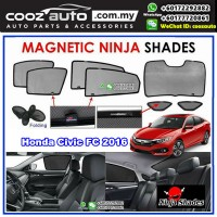 Honda Civic FC 2016 Magnetic Ninja Sun Shade Sunshade
