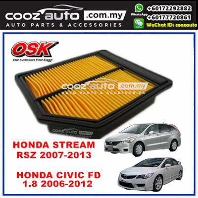 Honda Stream RN6 RSZ 2007 - 2013 OSK Replacement Air Filter