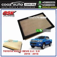 Toyota Hilux Revo 2.4 2.8 2016 - 2018 OSK Replacement Air Filter
