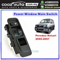 Perodua Kenari 2000 - 2007 Power Window Main Switch Right Driver Side