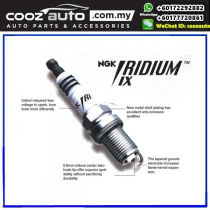 NGK TR7IX IX Iridium Spark Plug Proton Exora Preve CPS (NON Turbo)