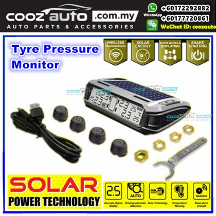 Tyre tire pressure digital monitor