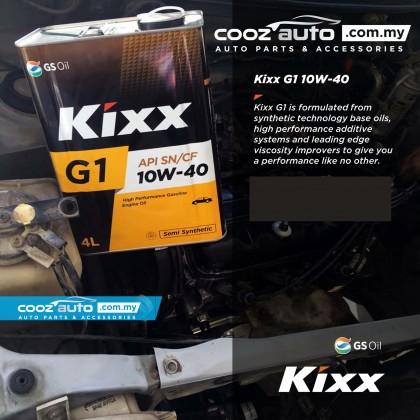 Kixx G1 10W40 Semi Synthetic High Performance Gasoline Engine Oil (4 Litre)