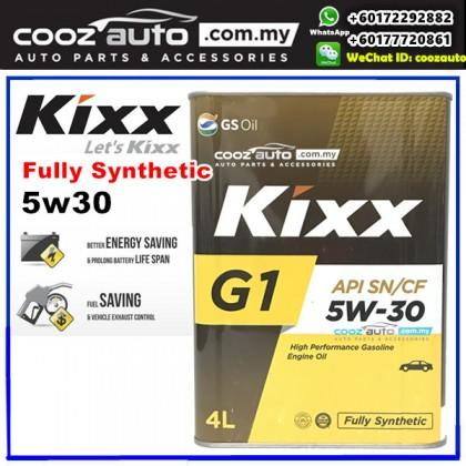 Kixx G1 5W30 Fully Synthetic Engine Oil Perodua Alza Myvi Bezza FREE Oil Filter
