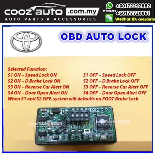 Toyota Camry 2012-2018 5 IN 1 A-MARK OBD FOOT BRAKE AUTO DOOR SPEED D
