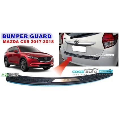 Mazda CX5 CX-5 2017 2018 Chrome ABS Rear Bumper Guards Protector
