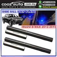 Isuzu D-Max 2012 - 2015 LED Door Side Sill Step Plates