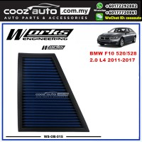 BMW 5 Series F10 520 / 528 2.0 L4 2011-2017 Works Engineering Drop In Air Filter