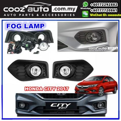 Honda City 2017 - 2018 OEM Waterproof Fog Lamp with Fog Light Cover Plug & Play