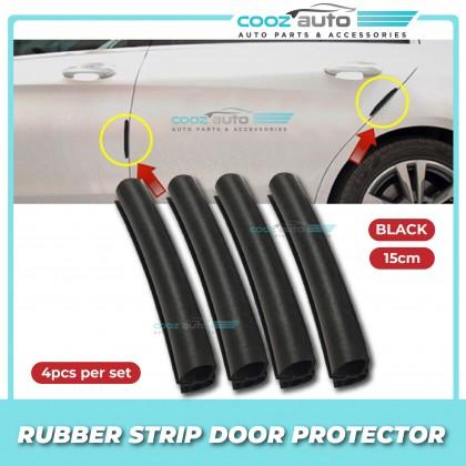 Rubber Strip Car Door Protector Anti Collision Scratch Door Guard Edge 15cm