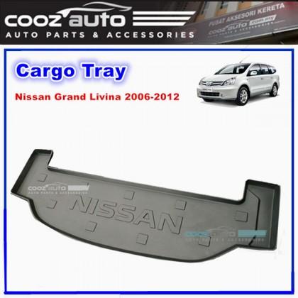 Nissan Grand Livina 2006 - 2012 Luggage / Boot / Cargo Tray