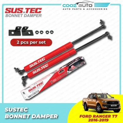 Ford Ranger T7 2016 - 2019 Sustec Front Hood Damper Bonnet Gas Lifter TWIN STRUT
