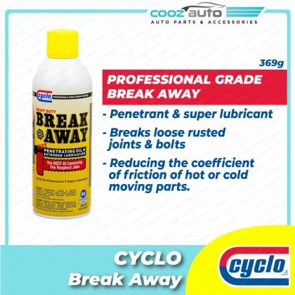 Cyclo Break Away Penetrating Oil and Lubricant Aerosol Spray (1 Bottle)