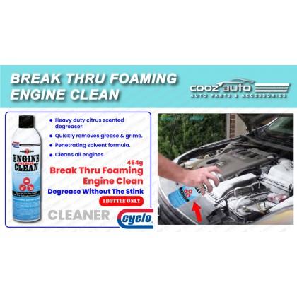 Cyclo Break Thru Low-Odor Engine Clean Degreaser, Aerosol Spray (1 Bottle)