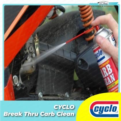 Cyclo Break Thru Carb Clean Aerosol Spray Carburetor Choke and Throttle Cleaner (1 Bottle)