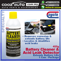 Cyclo Battery Cleaner & Leak Detector Removes Corrosion & Locates Leaks (1 Can)