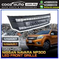 Nissan Navara NP300 2015 - 2019 LED Front Grill Grille
