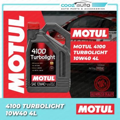 Motul 4100 Turbolight 10W40 4L 4100 Engine Lubricants - Technosynthese