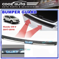 Honda CRV CR-V 2017 2018 2019 ABS Rear Bumper Guard Protector with BLUE Word