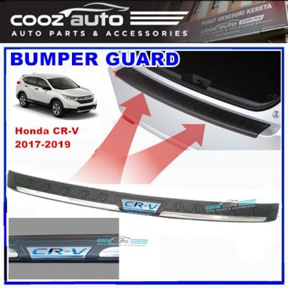 Honda CRV CR-V 2017 2018 2019 ABS Rear Bumper Guard Protector with BLUE Word