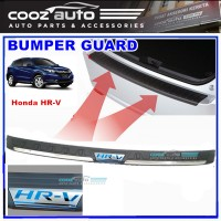 Honda HRV HR-V ABS Rear Bumper Guard Protector with Blue Word
