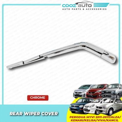 Perodua Alza Kenari Kelisa Viva Kancil Myvi 2005 - 2019 Chrome Rear Wiper Cover