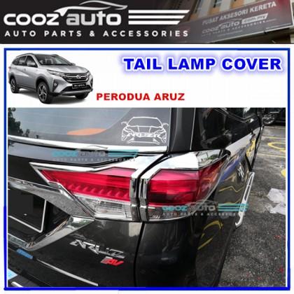 Perodua Aruz Rear Tail Lamp Cover Chrome Moulding Lining Protector Guard