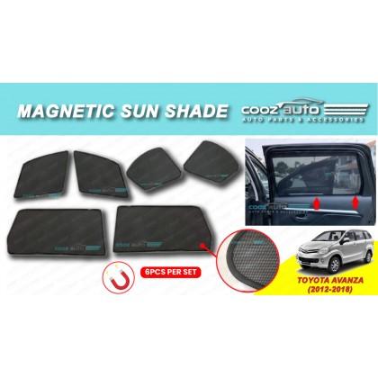 Toyota Avanza 2012-2018 Magnetic Sun Shade Magnet Sunshade