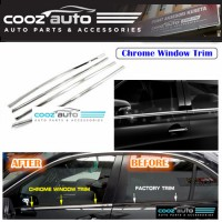 Perodua Kelisa Window Trim Chrome Lining / Door Belt Moulding