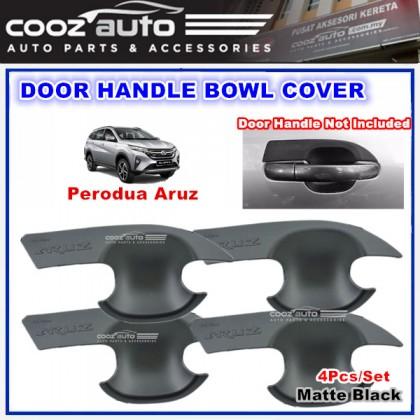 Perodua Aruz Door Bowl Cover Mat Black Moulding Protector Guard