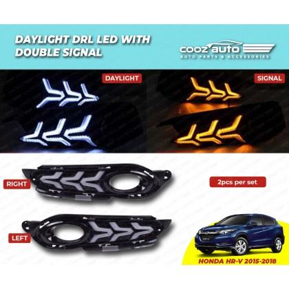 HONDA HRV 2015 - 2018 Daylight Daytime DRL + Signal + Fog Lamp Cover