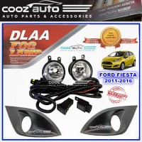 DLAA Ford Fiesta 2011 - 2016 Spotlight Fog lamp Fog light Foglamp Switch + Wiring