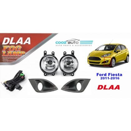 DLAA Ford Fiesta 2011 - 2016 Spotlight Fog lamp Fog light Foglamp Switch + Wiring